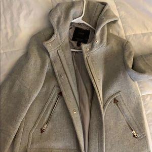 J.Crew gray winter jacket